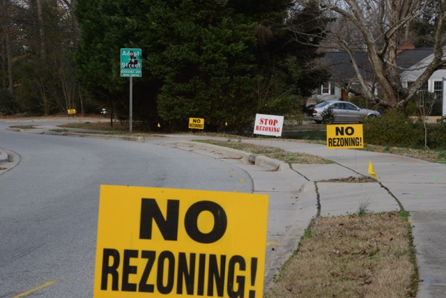 It Looks Like A Good Time To Rezone Property In Greensboro