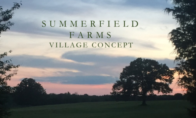 Mayor Gives Summerfield Farms Village A Thumbs Up