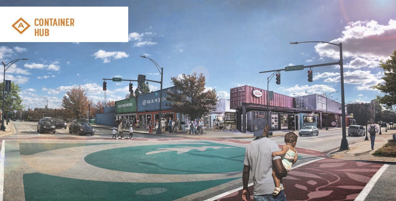 Container Hub May Be Coming To A Downtown Near You